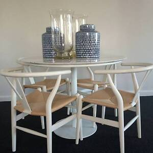 WISHBONE Dining Chairs Centennial Park Eastern Suburbs Preview