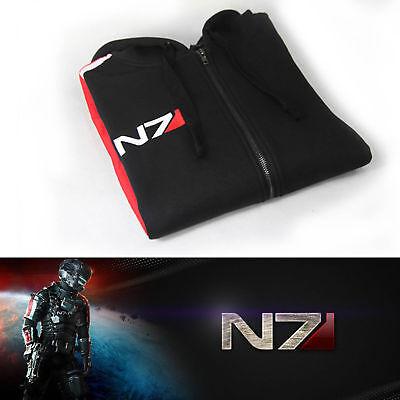 Mass Effect 3 N7 Baumwolle Hoodie Jacke Cosplay Kostüm Cosplay S-4XL TOP