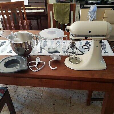 KitchenAid 5KSM150 Artisan Stand Mixer in Cream