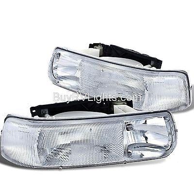 WINNEBAGO VISTA 2007 2008 2009 PAIR HEADLIGHTS HEAD LIGHT FRONT LAMPS RV SET