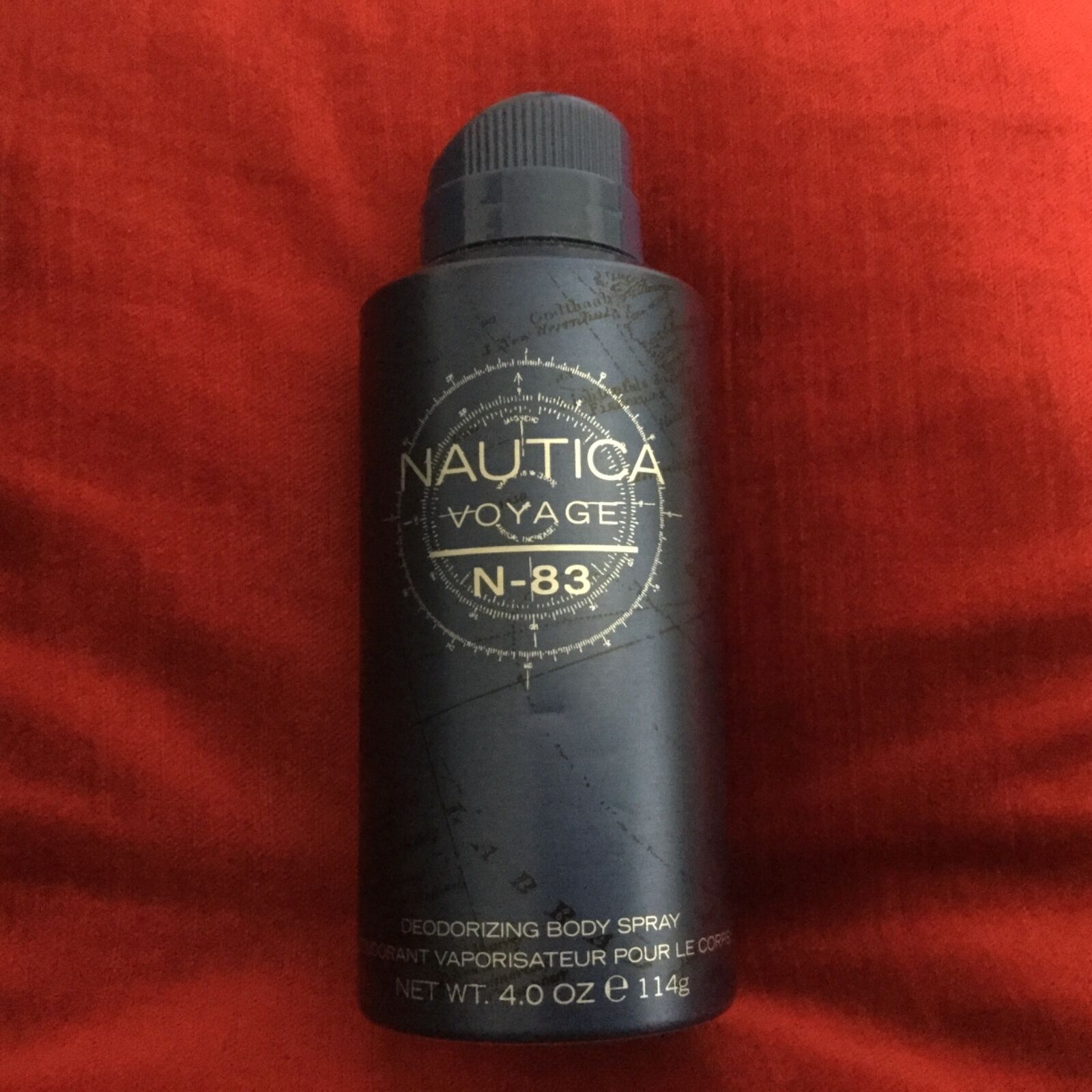 Nautica Voyage N-83 Body Spray 4 oz. New!