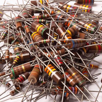 2 Watt 10 330k Ohm Carbon Composition Resistor Nos