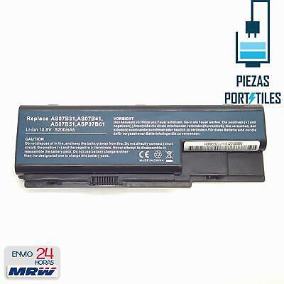 Bateria para Portatil ACER ASPIRE 7720G 7720Z 7720ZG Li-ion 10,8v 5200mAh BT06