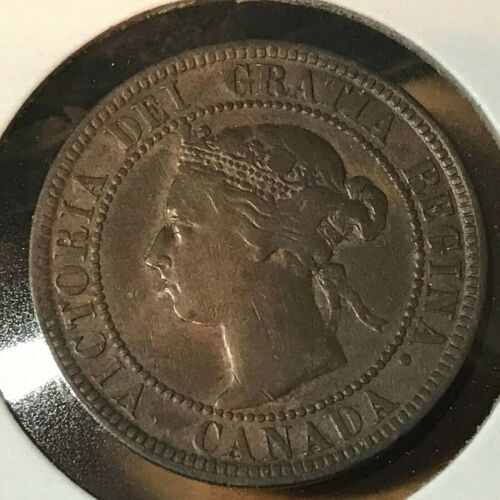 1893 CANADA LARGE PENNY HIGH GRADE