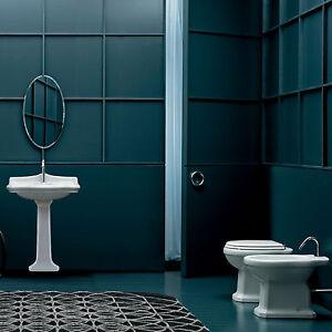 Sanitari classici bagno completo wc bidet e lavabo in - Sanitari bagno classici ...