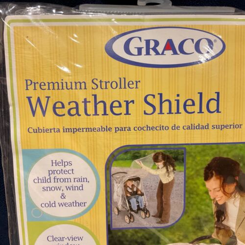 New ..FITS MOST Canopy Strollers …Rain Wind Weather Cover Protector Kids Baby