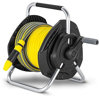 Karcher Hose Reel and Accessories - 25m Perfect for Small to Medium sized Garden