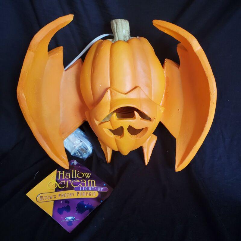 Vintage 1995 Trendmasters Halloween Bat Jack OLantern Pumpkin Lighted new rare