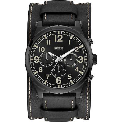 Guess Black Dial Men's Multifunction Watch W1162G2