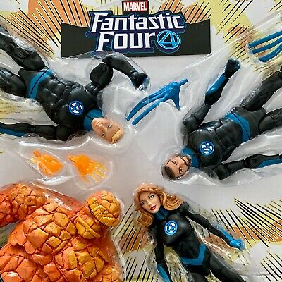 Marvel Legends Fantastic 4 Four Dr Doom Thing Invisible Woman Human Torch UPICK!