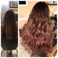 HAIR EXTENSIONS- $300 AND UP!