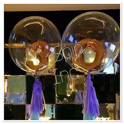 Clear Helium Balloons (DIY 24