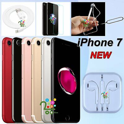 NEW Apple iPhone 7 32GB 128GB 256GB Factory Unlocked Mobile Smartphone iOS UK