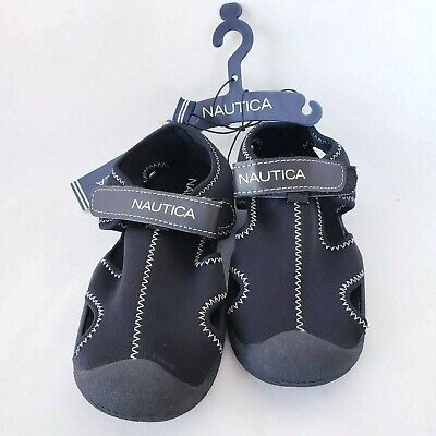 Kids Boys Nautica Gulf Protective Water Shoes Closed-Toe Sports Sandal Size 12