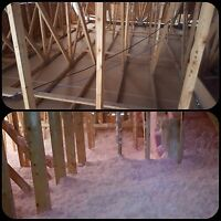 ATTIC INSULATION! IS YOUR HOME COLD?