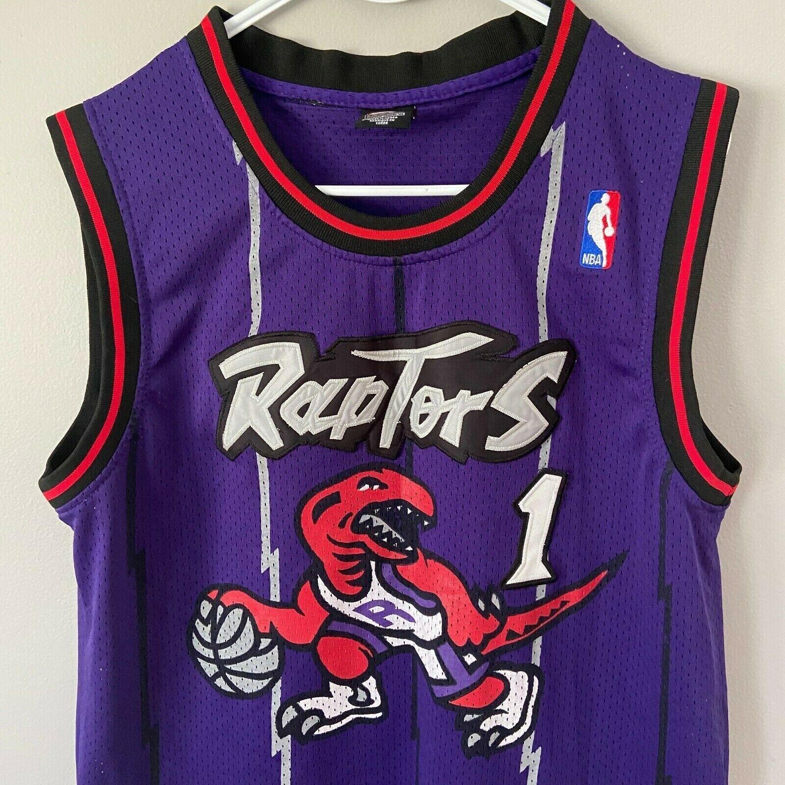Tracy McGrady Toronto Raptors NBA Basketball Stitched Jersey