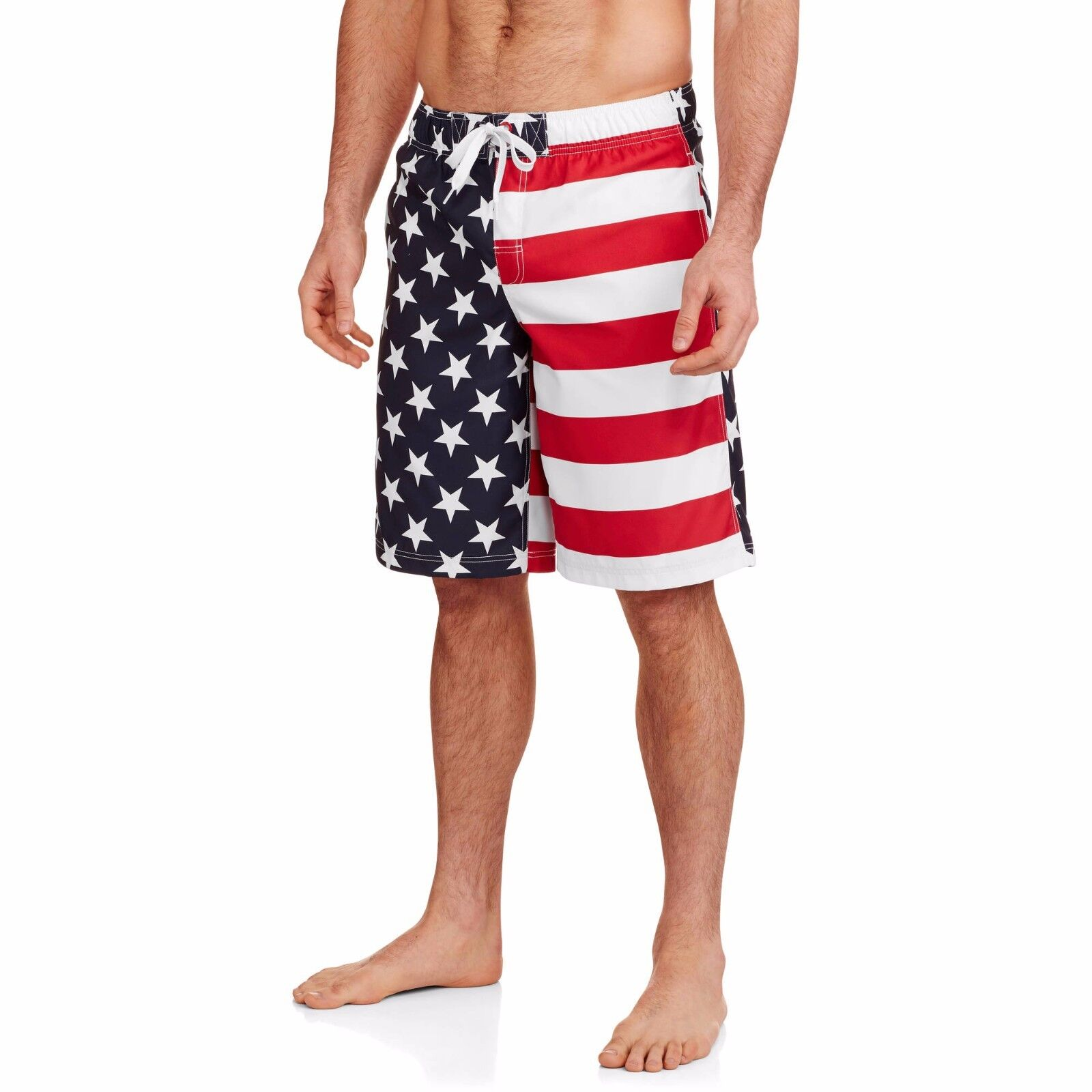 men s american flag swim trunks usa