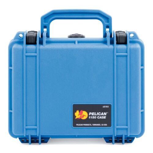 Pelican Blue & Black Pelican 1150 case with foam.