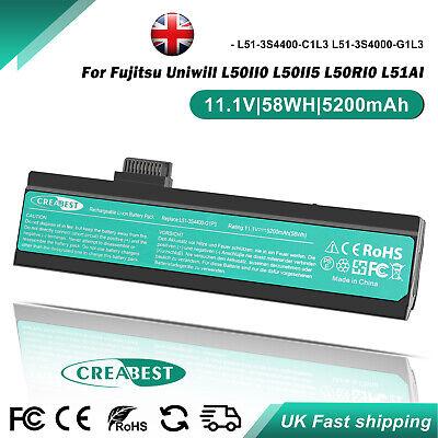 5200mAh Battery For Advent 8117 7113 Li1818 L51-3S4000-S1P3 L51-3S4000-G1L1 C1L3
