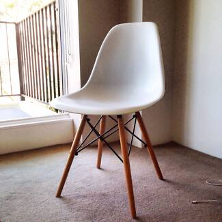 Set of 4 replica Eames chairs Potts Point Inner Sydney Preview