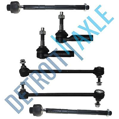 6pc Front Tie rod Sway bar link For 2008 Ford Taurus X Mercury Sable Ford Taurus Sway Bar Link
