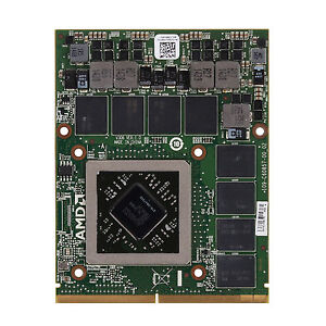 AMD R9 M290X 4GB Video Card MXM3.0 216-0847000 For Dell Alienware 17 18