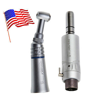 Dental Low Slow Speed Handpiece Contra Angle Air Motor E-type 2-h Fit Nsk Seasky