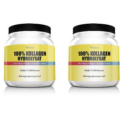 Pro Natural Kollagen Hydrolysat Collagen Knorpel & Gelenke 1000 g, 1 kg, Pulver