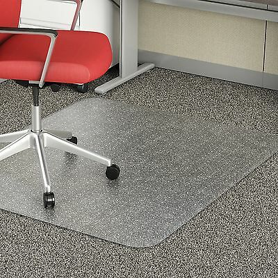 Lorell Economy Chairmat Rectangular Low Pile 46x60 Clear 02158