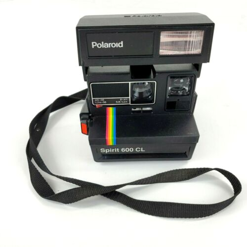 Vintage Polaroid Spirit 600 CL Instant Film Camera Rainbow