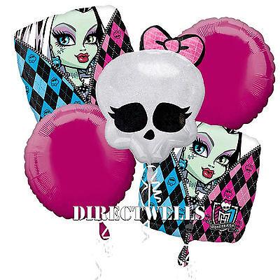 Monster High Authentic Licensed Foil / Mylar Balloon - Monster High Balloons