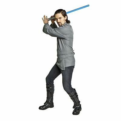 Adult Teen Men's Star Wars Jedi Rogue One Karate Cosplay Costume Tunic Belt - Jedi Costume For Men
