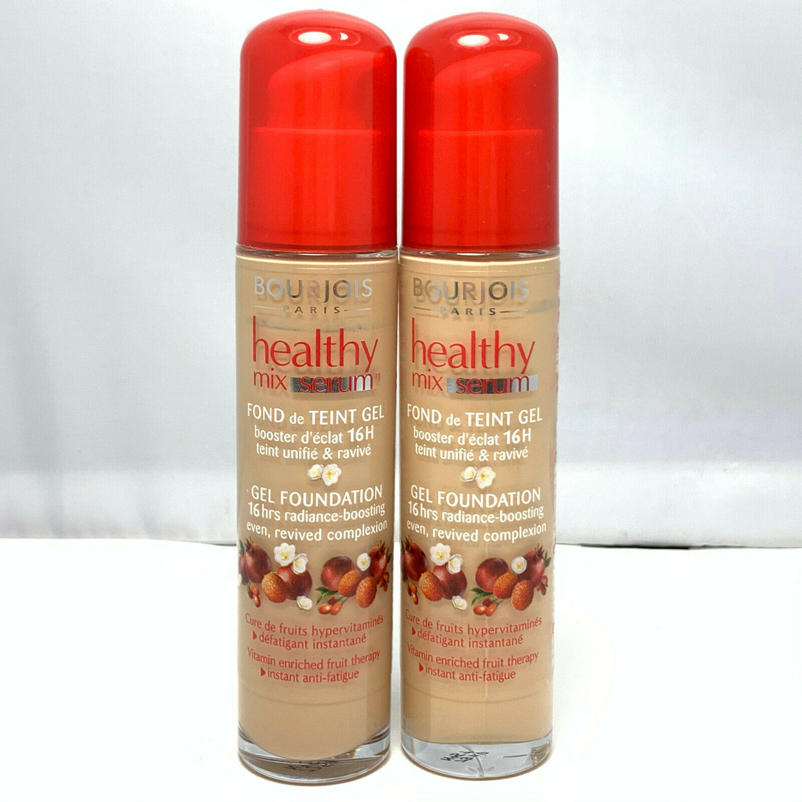 2 X Bourjois Healthy Mix Radiance Reveal Foundation 30ml 51 Light Vanilla For Sale Online Ebay