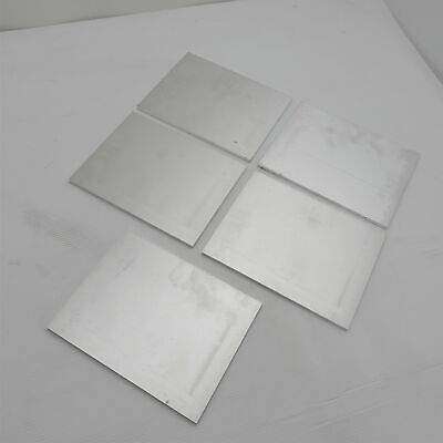 .25 Thick 14 Aluminum 6061 Plate 6.6875 X 9.125 Long Qty 5 Sku 137018