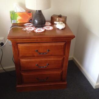 Bedside tables Fairfield Fairfield Area Preview