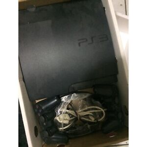 PS3 250GB Slim with 2 x Controllers and 6 Games | Playstation