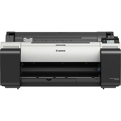 New Canon Imageprograf Tm-200 24 Widelarge Format 5 Color Printerplotter