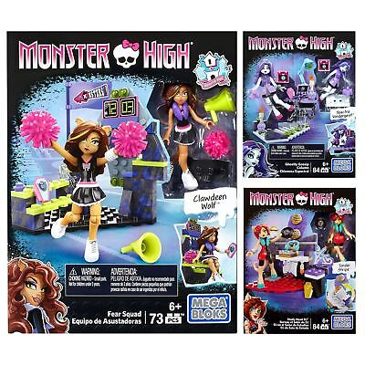 Monster High Mega Bloks Build Connect Set Mini Ghoul Figure Toy Playset