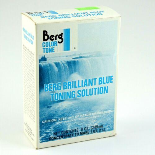 Berg Brilliant Blue Toning Solution for B+W Photographs Contents Make 1 Quart
