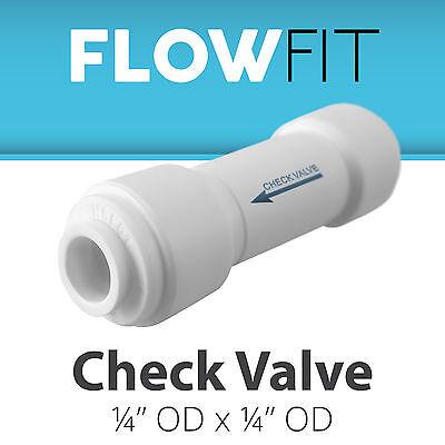 "لاعمال السباكة جديد Straight Check Valve 1/4"" Fitting Connection for Water Filters / RO Systems"