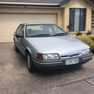 1991 FORD FALCON EA DUEL FUEL 4 SPEED ELECTRONIC AUTOMATIC