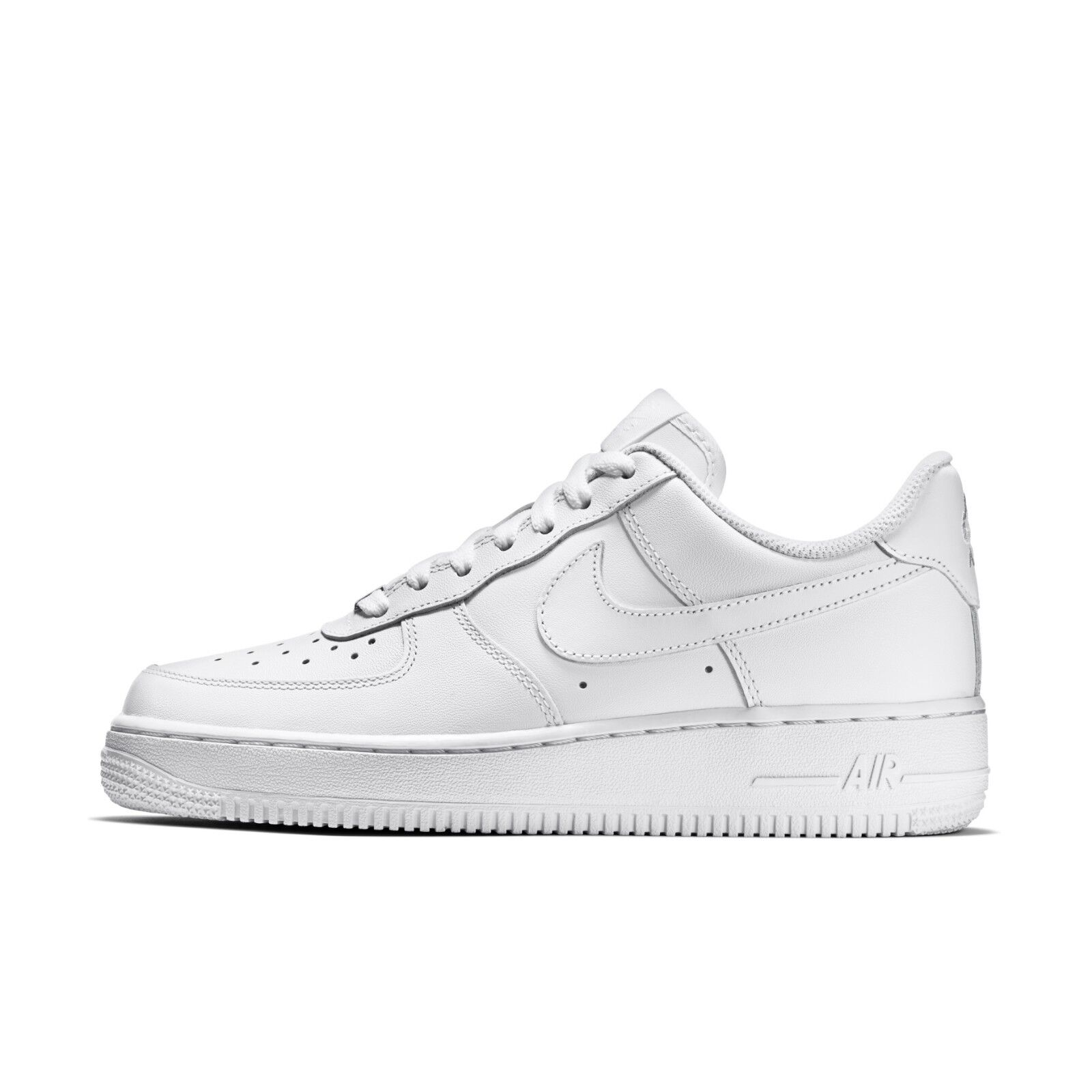 Nike Womens Wmns Air Force 1 07 Low Whiteout Classic Triple White AF1 315115 -112 90f35f2cf7