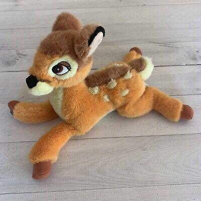 Authentic Vintage Disney BAMBI Stuffed Plush Super Soft Deer Animal