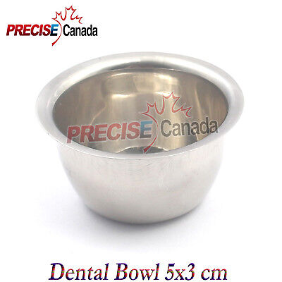 New 5x3cm Mixing Dental Plaster Alginate Bowl Surgical Implant By Precise