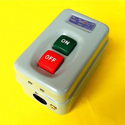 Push Button Switch Electric Power Control Box Kh-305 3phase Self Locking Onoff