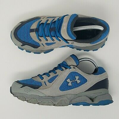 Under Armour Chetco II Womens Size 8.5 Blue Gray 1227578-484 Trail Running Shoes