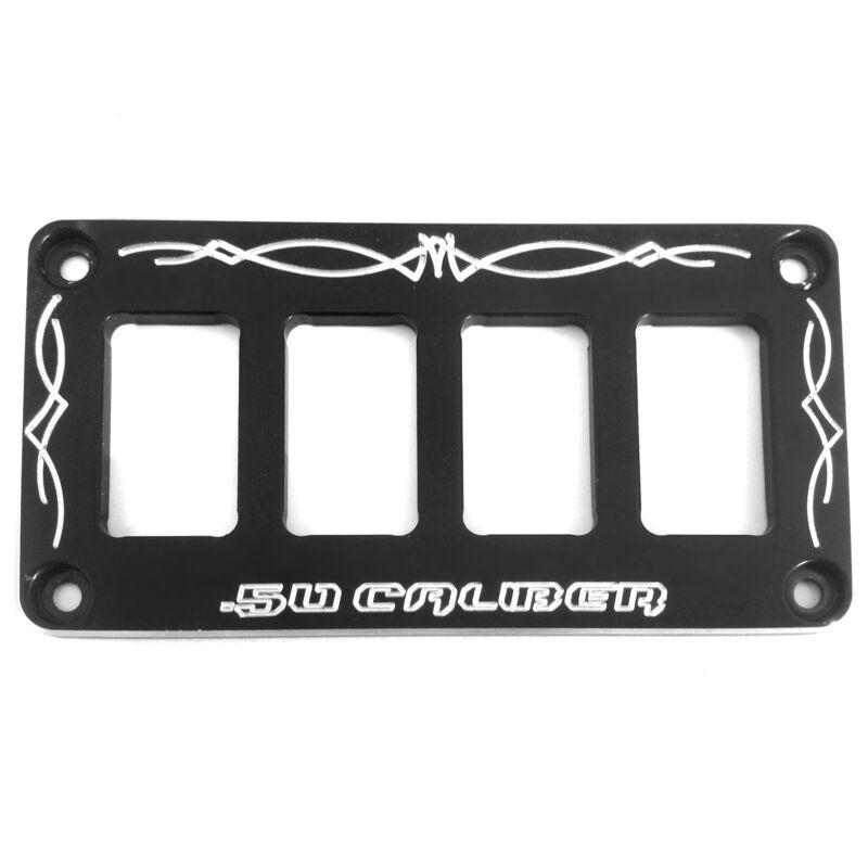 Universal Dash Panel Only Powdercoat Black SUV Car Accessory Parts