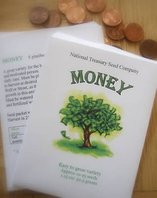 Graduation Money Tree ( Money Tree Seeds Seed Packet *Stocking Stuffer* Graduation Graduate)