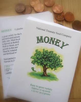 Graduation Money Tree ( Money Tree Seeds Seed Packet *Stocking Stuffer* Graduation Graduate)