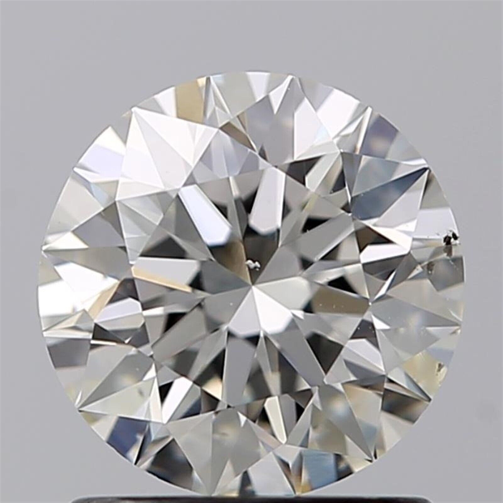 1.10 ct H Color SI1 Clarity Round Natural Loose Diamond EX Cut GIA FL Strong